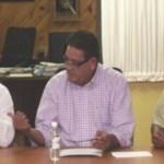 Aguilar Villavicencio expresó lo indispensable de seguir ponderando el diálogo; de establecer la premisas indispensables que permitan avanzar; de concretar en un corto tiempo los acuerdos que esperan los Trabajadores de la Educación.