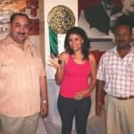 Con el boleto número 3156, la joven estudiante María del Socorro García Ruiz fue la feliz afortunada del auto último modelo que se rifó la noche del domingo en el marco de las festividades de la EXPO COMONDU BICENTENARIO 2010.