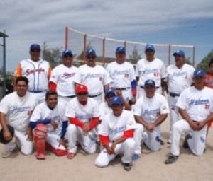 Los Halcones le ganaron a Rieleros de la Trinidad 16-15 en la Liga Permanente de Béisbol ISSSTE-IMSS.