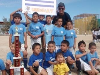 Uruguay, campeón del Mundialito Infantil