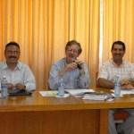 El rector de la UABCS y el director general de CONACYT sostuvieron reunión de trabajo.