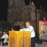 El secretario de Sedesol, Heriberto Félix, entregó la línea de conducción y red de distribución de energía eléctrica convencional a la comunidad de San Javier, obra del gobierno federal que beneficia a más 100 familias.