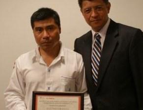 Juan Álvarez, ganador del Premio Intercontinental de Literatura en Lenguas Indigenas