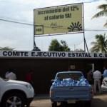La casa del PRD se hallaba ajetreada desde las 8 de la mañana, cuando Antonio Agúndez se hizo presente para confirmarse aspirante a la Presidencia de Los Cabos. El último en tomar protesta fue Víctor Lizárraga, doce horas más tarde.