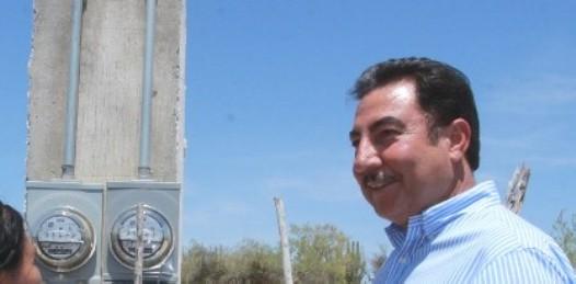 Entregará NAM obras de electrificación en Loreto y La Paz