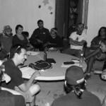 """Bernardo Valadez, integrante y organizador del colectivo, nos comenta: """"Somos artistas y promotores culturales independientes, algunos trabajamos para el gobierno, pero en nuestros ratos libres hacemos trabajo independiente""""."""
