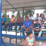 La afición de la Liga Permanente de beisbol, hasta el último momento apoyando a sus equipos.