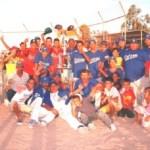 El equipo de La Trinidad vino, vio y venció en la serie campeonil de beisbol segunda fuerza.