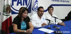 Alfredo Zamora, candidato del PAN