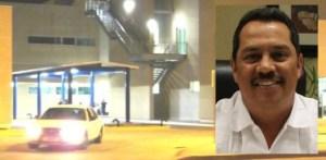 Elementos de la Secretaría de Seguridad Pública, bajo fuerte hermetismo pretendieron ocultar el asesinato haciendo creer a la ciudadanía que se trató de un intento de robo de vehículo.