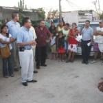 Unas 15 familias de la colonia Caribe, el cual es un asentamiento irregular, denunciaron a su líder Catarino Flores.