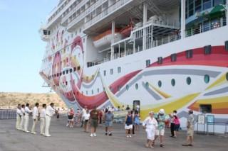 Lenta recuperación del turismo  marítimo