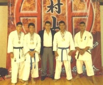 Triunfan cabeños en el karate a nivel  nacional