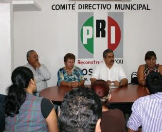 Confía el PRI en que serán sus militantes quienes abanderarán a su partido en el próximo proceso