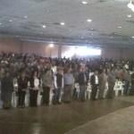 Mas de mil ciudadanos acudieron este 21 de octubre a la conmemoración del 51 aniversario del Sindicato Salinero de Guerrero Negro e Isla de Cedros.