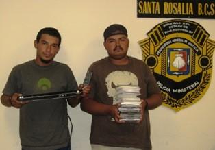 """Capturados por robar en el """"El Tenampa"""""""