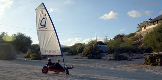 Inician los deportes de invernales de viento