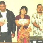 Antonio García Rodríguez,Angelina Sempual Burgos y Héctor David Zatarain Castrejón.