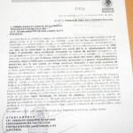 Este es el exhorto que la SSA a través del licenciado Armenta le envió al Ayuntamiento de Los Cabos.