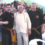 Grand Master James Ibrao y Sifu Daniel Mansion, de International Chinese Martial Arts Association Jun Bao Wushu Kung Fu Tai Chi, procedentes de Pasadena, Ca. USA, impartieron el seminario organizado por Sifu Willy Guerrero, Presidente de Dragón Negro Wushu Kung - Fu Asociación.
