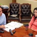 Los padres de la niña desaparecida Lisset Soto Salinas se reunieron con el gobernador Narciso Agúndez, a quien pidieron mantener los esfuerzos para localizar a la menor.