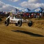 """Todo listo en la pista Luis """"Loco"""" Sandoval para la carrera de campeonato nacional Cabo Grand Prix 2010."""