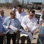 El gobernador Narciso Agúndez y la directora del IPN Yoloxóchitl Bustamante visitaron el predio en el que se construirá la Unidad de Ciencias Medico-Biológicas, para lo cual el jefe del Ejecutivo Estatal ha gestionado 60 millones de pesos ante la H. Cámara de Diputados.
