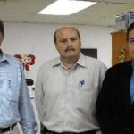 El M. en C. Javier Gaitán Morán, Rector Interino de la UABCS, dio nombramiento al Lic. Gilberto Trasviña Talamantes, como Jefe del Departamento de Recursos Humanos.