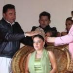 En el arranque de las fiestas tradicionales de San Javier, el gobernador Narciso Agúndez encabezó la ceremonia de coronación de Maritza I ante cientos de lugareños y visitantes en esta comunidad enclavada en la sierra de Loreto.