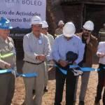 La actividad minera en Baja California Sur registra un impulso sin precedentes en la administración del gobernador Narciso Agúndez, quien ayer puso en marcha el reinicio de actividades extractivas de cobre en Santa Rosalía con la histórica Mina El Boleo.