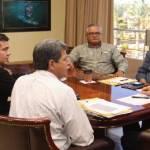En reunión de trabajo con el rector de la UABCS, Javier Gaitán, el gobernador Narciso Agúndez destacó la necesidad de concretar reformas y acciones que le den mayor estabilidad a la máxima casa de estudios.