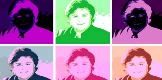 Reconoce Estela Ponce la influencia de Warhol en sus promocionales