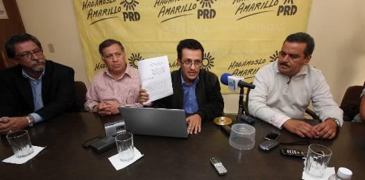 Pone en duda el PRD el origen lícito de los recursos panistas de campaña