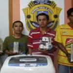 Urbano Alpucha Rodríguez (A) El Cubano, Casiano Rodríguez González (A) El Chapo, Omar Cota Martínez (A) El Cowy y Jesús Alberto Cota Martínez.