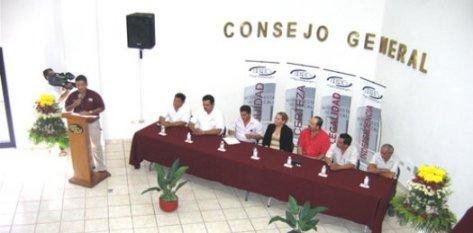 Comentó la Presidenta Consejera, Ana Ruth García Grande que es la última vez que en el estado se realiza una elección un 6 de febrero, siendo atípica y el periodo de los funcionarios a lo largo y ancho de nuestro territorio será de cuatro años y medio.