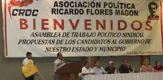 No a proyectos políticos que desde el Gobierno Federal han atentado contra el sindicalismo: LAD