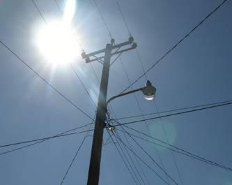 Se robaron más de 5 mil metros de cable del alumbrado público