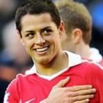 Es el segundo doblete de Chicharito en la Liga Premier, después del que consiguió ante Stoke City.