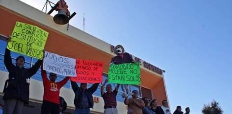 Ahora, la manifestación tomará un nuevo rumbo; huelga de hambre.