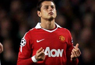 El 'Chicharito' en la pelea por ser el jugador del mes en el Manchester United