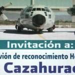 """Este lunes 21 de marzo, de 11 a 15 horas, en la terminal 2 del aeropuerto internacional de San José del Cabo BCS, se encontrará en exhibición el avión militar estadounidense, """"Hércules"""", caza huracanes."""