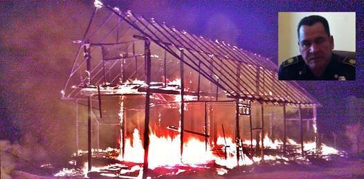 """Causan alarma ciudadana incendios provocados en Camino Real y Todos Santos. Piden Bomberos se denuncie cualquier """"actividad sospechosa"""""""