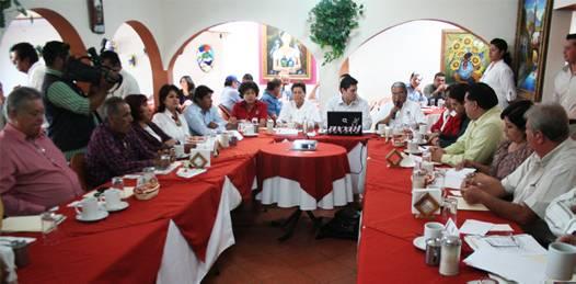 Reforma electoral, TSJ, SEP y UABCS en la agenda legislativa de la fracción priista