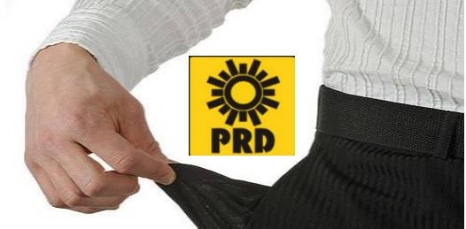 El PRD en quiebra