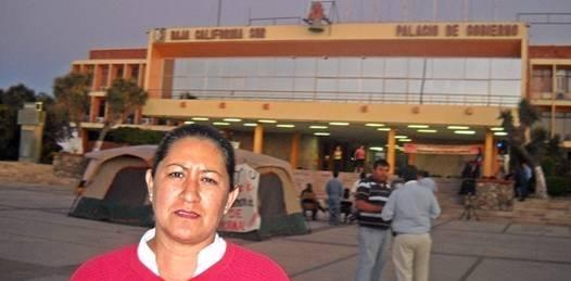 No se moverán trabajadoras comundeñas de palacio de Gobierno. Un hecho su huelga de hambre