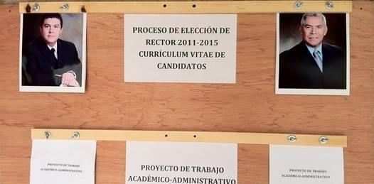 Sólo van Cruz y Uciaga por la Rectoría de la UABCS. Inválida la candidatura de Samuel Flores