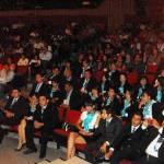La UABCS, a través del Departamento Académico de CPyAP y el Comité Organizador del Décimo Semestre de la Licenciatura en Derecho, clausuró el IX Congreso Nacional de Derecho.