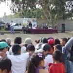 El gerente estatal de la CONAFOR, Ing. Francisco Flores González, dijo que para esta actividad los habitantes del Ejido El Pescadero demostraron su correcta organización interna en actividades que benefician a todos, especialmente en aquellas que inciden directamente en la mejora y recuperación de espacios públicos.