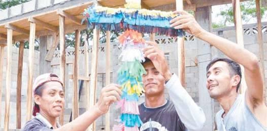 Festejaron los trabajadores de la construcción el Día de La Santa Cruz