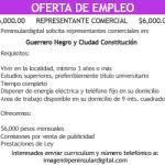 Oferta de Empleo: Guerrero Negro y Ciudad Constitución